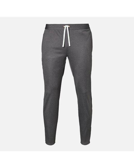lyst adidas originals mens track pants in gray for men