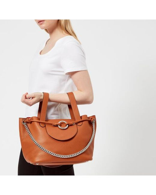 e86b650be4 Lyst - meli melo Women s Linked Thela Medium Tote Bag in Brown