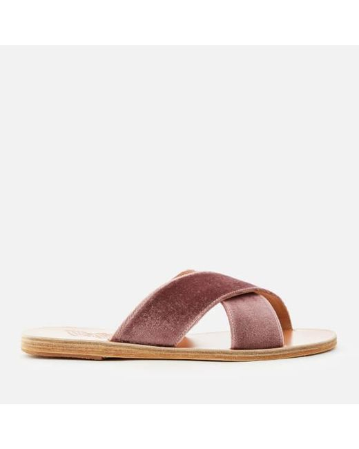 Pink Thais cross-over sandals Ancient Greek Sandals W0f9iBKu