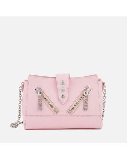KENZO - Pink Kalifornia Shoulder Bag - Lyst