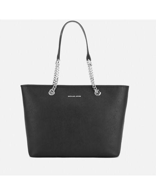 MICHAEL Michael Kors | Multicolor Jet Set Travel Chain Top Zip Tote Bag | Lyst