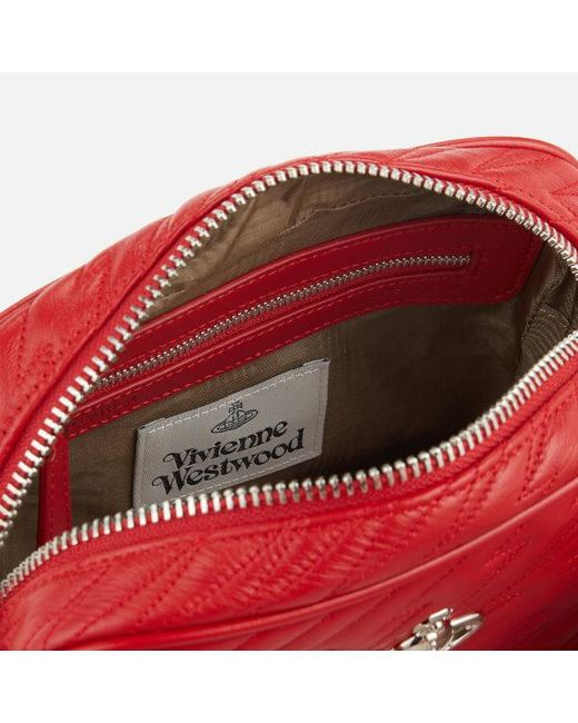 3b8748bf43 ... Vivienne Westwood - Red Women's Coventry Camera Bag - Lyst