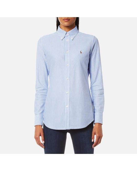 Polo Ralph Lauren - Blue Women's Heidi Shirt - Lyst