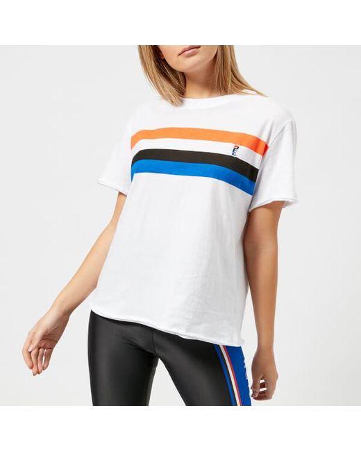 P.E Nation Women's Middle Distance Short Sleeve T-Shirt Cheap Sale 2018 Unisex 100% Guaranteed For Sale Cheap Sale Best Place Buy Sale Online e48RC90