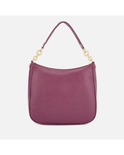 Furla Women s Cometa Medium Hobo Bag in Purple - Lyst b70a8e04224bc