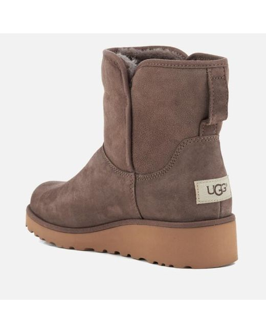 UGG® Kristin Suede Classic Slim Booties