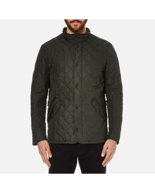 Barbour - Green Men's Chelsea Sportsquilt Jacket for Men - Lyst