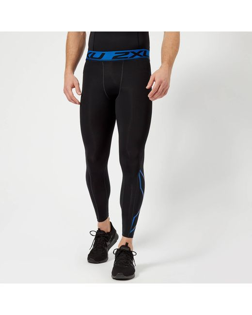 103184ee75e50 2xu - Black Accelerate Compression Tights for Men - Lyst ...
