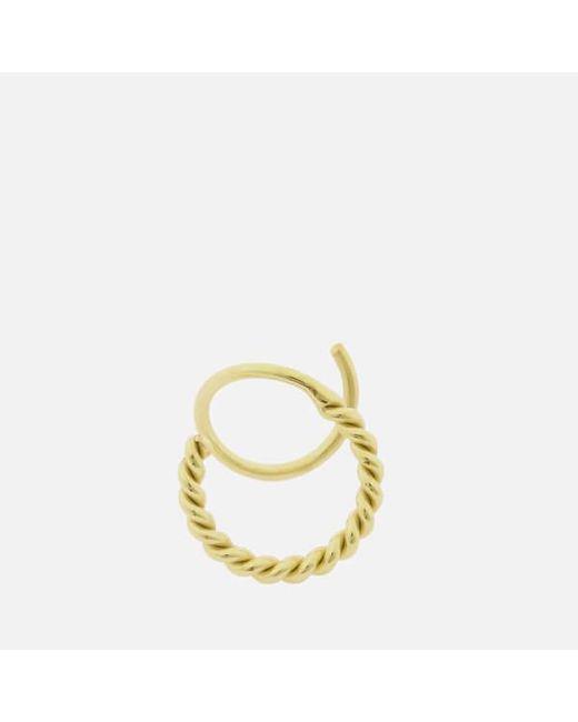 Maria Black - Black Women's Sofia Twirl Earring Right - Lyst
