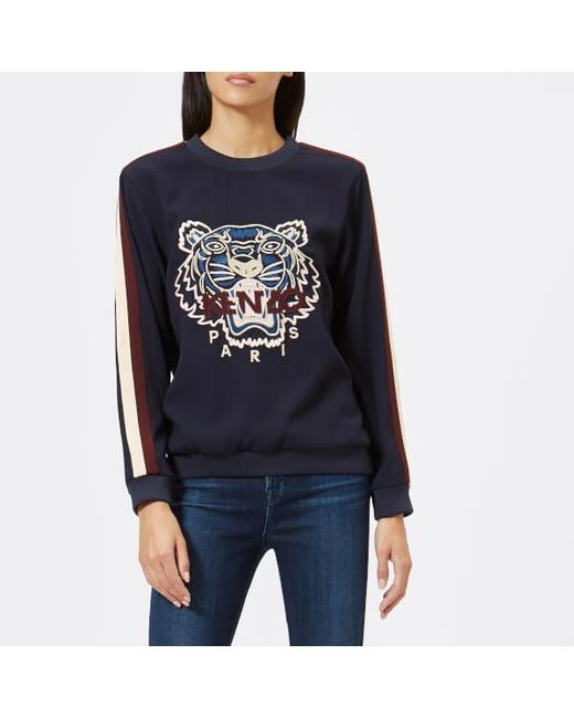 KENZO - Blue Tiger Sweatshirt - Lyst