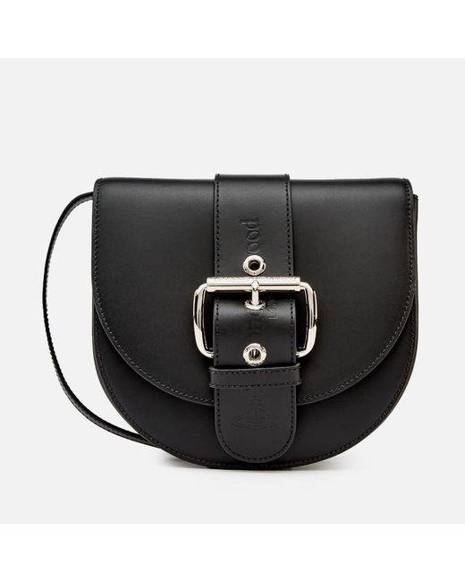 Vivienne Westwood - Black Alex Saddle Bag - Lyst