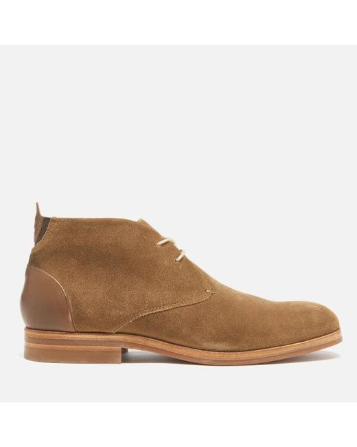 H by Hudson | Brown Men's Matteo Suede Chukka Boots for Men | Lyst