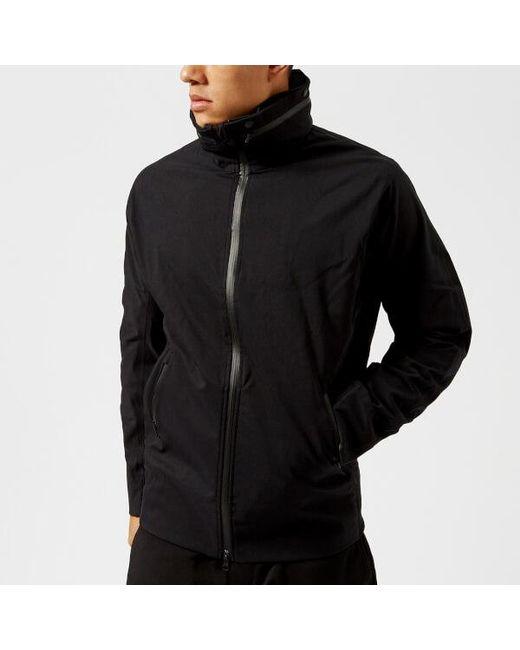y 3 y3 men s storm jacket in black for men lyst