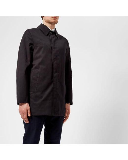 Aquascutum - Blue Men's Berkeley Sb Raincoat for Men - Lyst