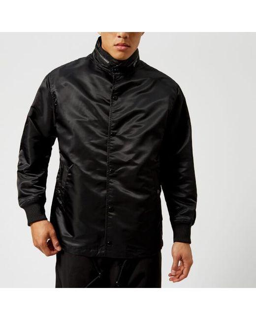 y 3 y3 men s street coach jacket in black for men lyst