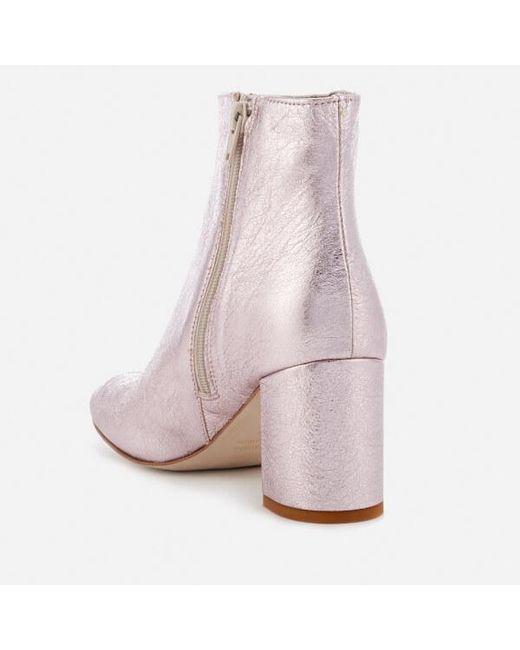Stefania boots - Metallic Rebecca Minkoff 7dCyO