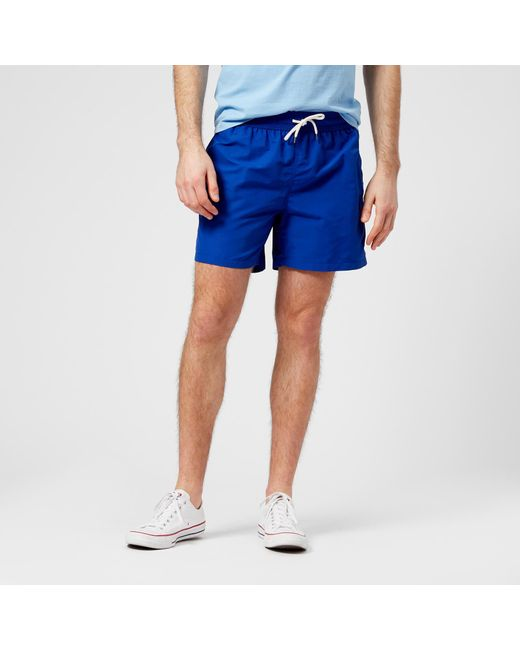 dc9fe4c05 Polo Ralph Lauren - Blue Traveler Swim Shorts for Men - Lyst ...