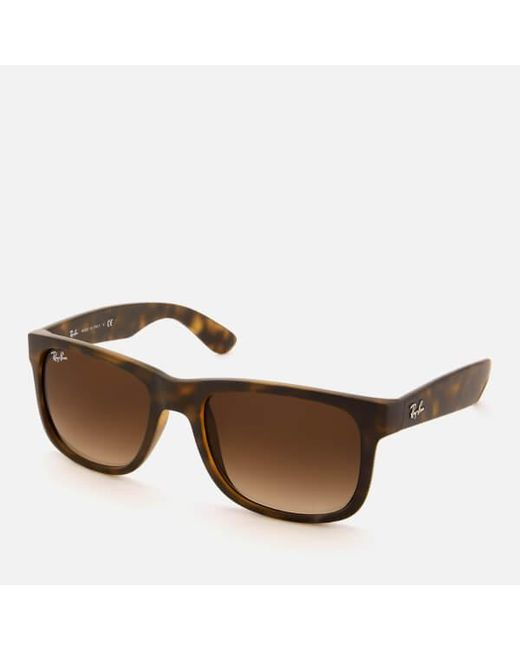 be02d94502 Frame Justin In Men s Ban Brown Square Rayban Ray Lyst Sunglasses tnqI8wYn