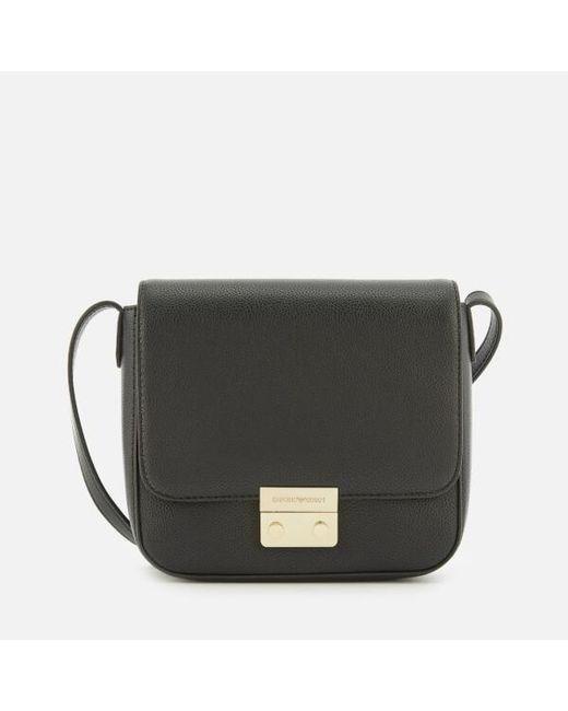 Emporio Armani Women s Cross Body Bag in Black - Save 29% - Lyst 7202b519991f6