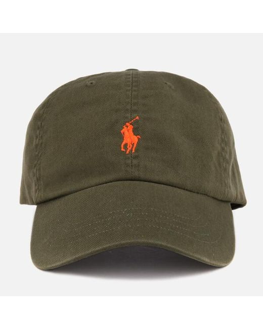 55a9933b93f1b8 Polo Ralph Lauren - Green Men's Sport Cap for Men - Lyst ...