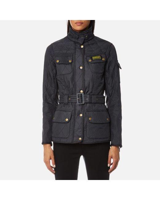 Barbour - Blue Polarquilt Jacket - Lyst