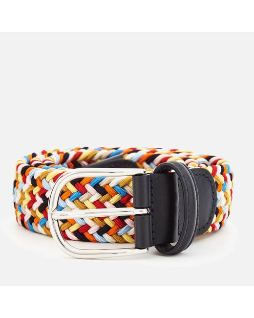 Andersons - Multicolor Core Woven Fabric Belt for Men - Lyst