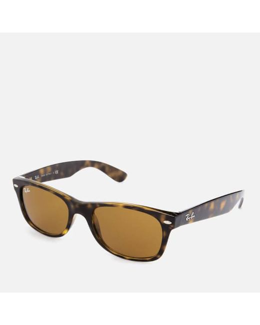 54918359f8f ... Lyst Ray-Ban - Brown Rayban Men s New Wayfarer Sunglasses for Men ...