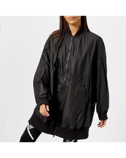 y 3 y3 women s reversible bomber jacket in black lyst
