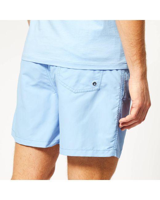 295d7e1403 ... Polo Ralph Lauren - Blue Traveller Swim Shorts for Men - Lyst ...