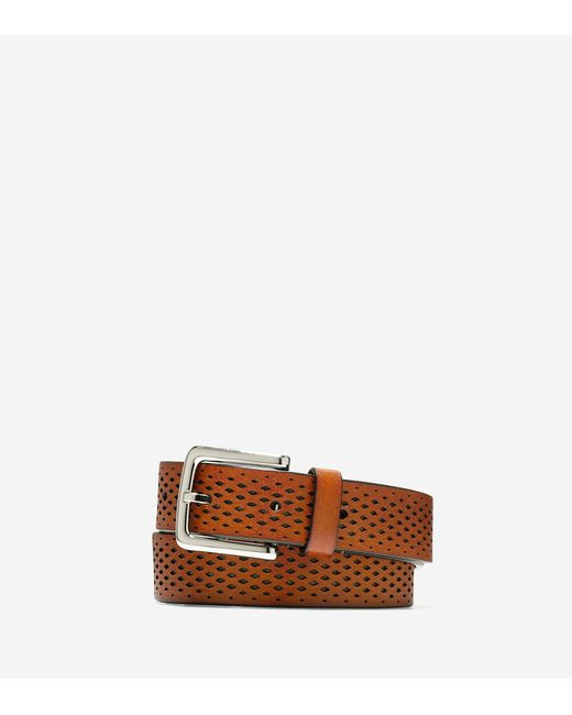 Cole Haan - Multicolor Washington Grand 32mm Laser Perforated Belt for Men - Lyst