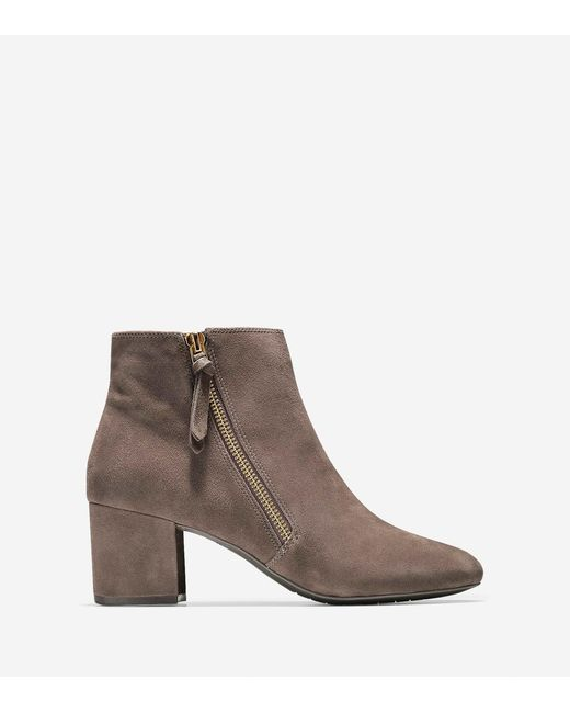 Cole Haan - Brown Saylor Grand Bootie (60mm) - Lyst
