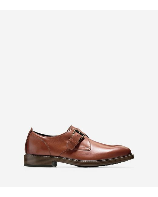 Cole Haan | Multicolor Kennedy Single Monk Oxford for Men | Lyst