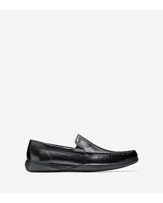 Cole Haan | Black Lovell Two-gore Loafer for Men | Lyst