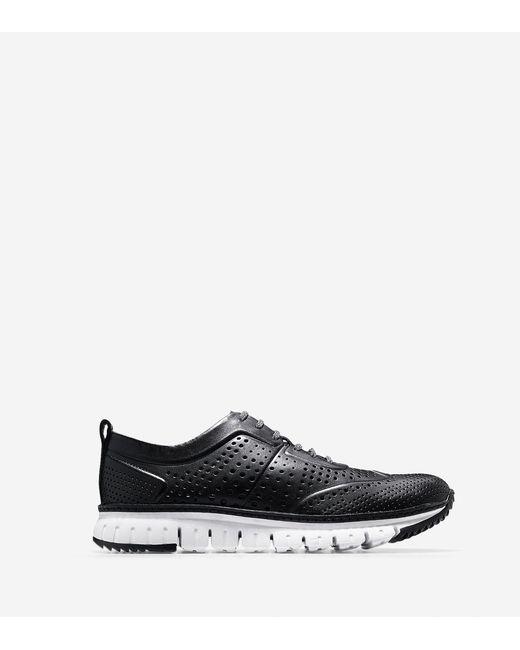 Cole Haan | Black Men's Zerøgrand Perforated Sneaker for Men | Lyst