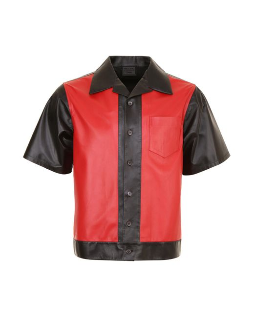 Prada - Multicolor Matte Nappa Shirt for Men - Lyst