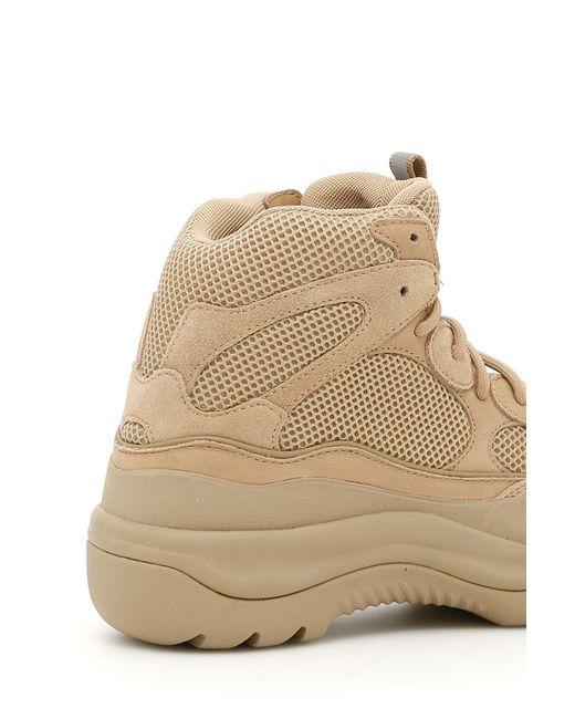 da87eaffd Yeezy Season 6 Desert Rat Boots in Natural for Men - Save 83% - Lyst
