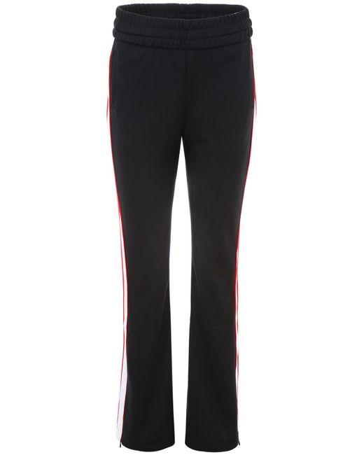 Off-White c/o Virgil Abloh - Black Side Stripe High Waisted Track Pants - Lyst