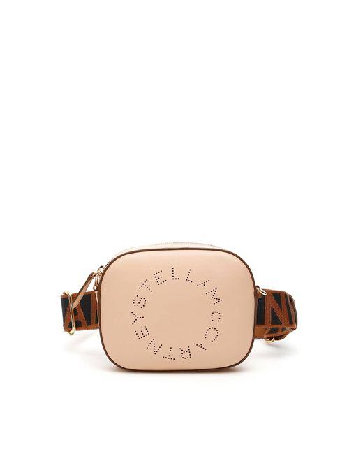 Stella McCartney Brown Beltbag With Perforated Logo