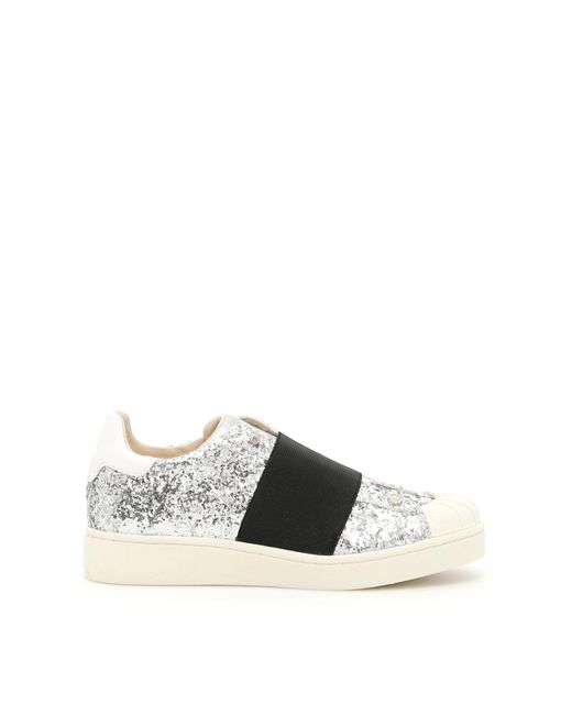 MOA - Metallic Sequined Sneakers - Lyst