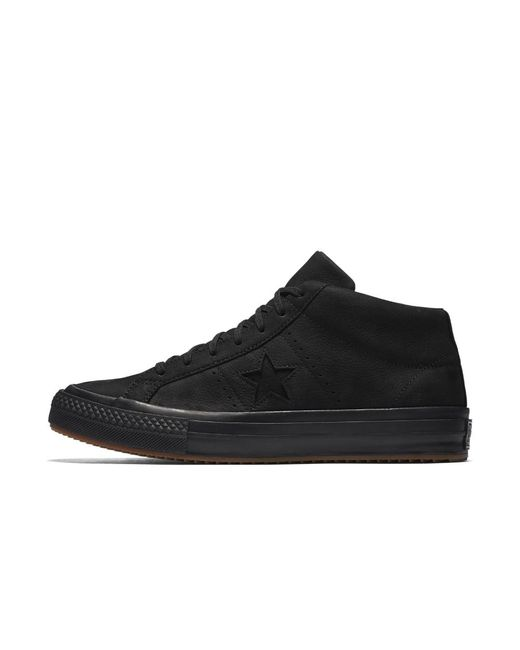 Converse - Black One Star Mid Counter Climate High Top Shoe for Men - Lyst