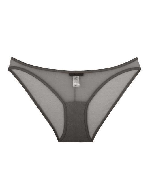 Cosabella | Gray New Soire Sheer Lowrider Bikini | Lyst