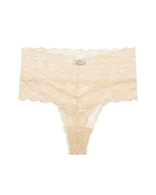 Cosabella - Pink Never Say Never High Rise Thong - Lyst