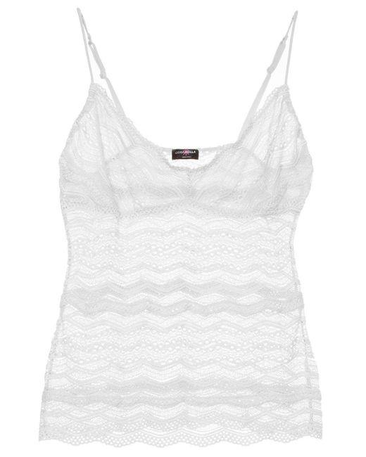 Cosabella | White Ceylon Long Camisole | Lyst