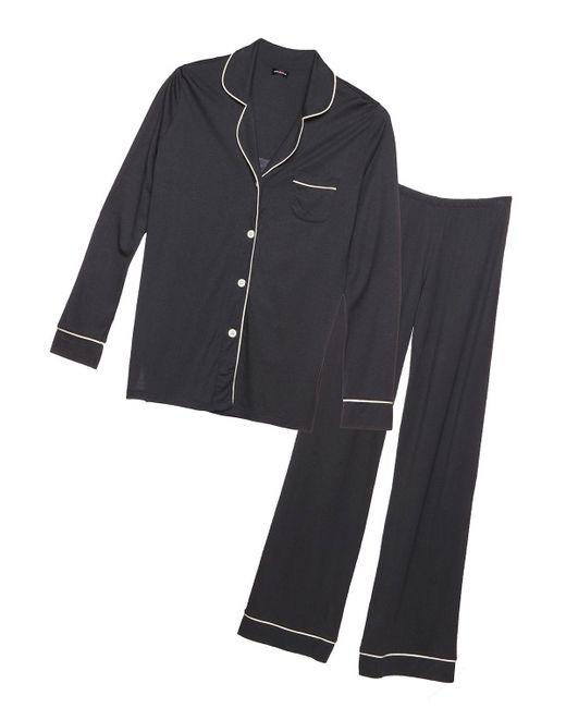 Cosabella - Gray Bella Longsleeve & Pant Pajama Set - Lyst