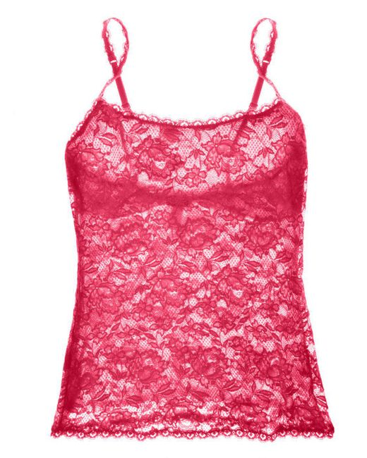 Cosabella - Red Never Say Never Sassie™ Lace Camisole - Lyst