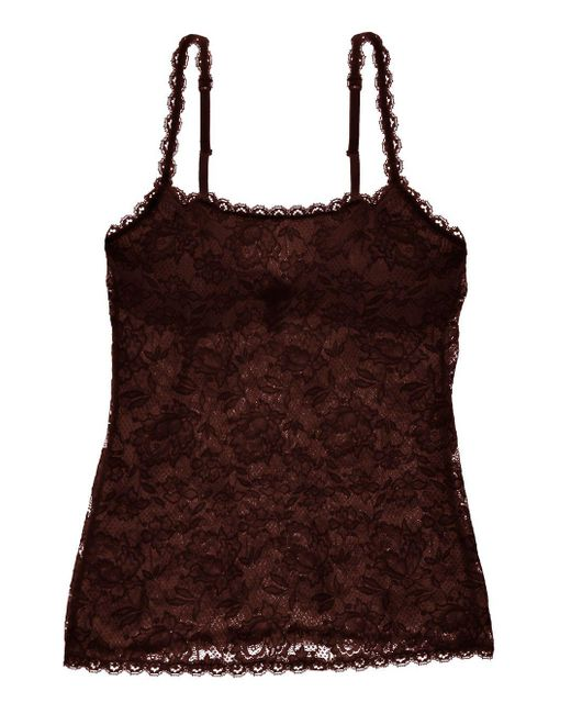 Cosabella - Brown Never Say Never Sassie™ Lace Camisole - Lyst