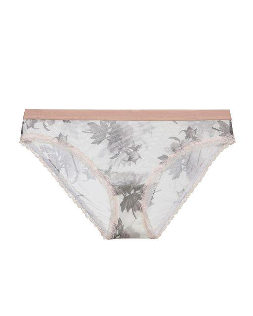 Cosabella - White Raelyn Lowrider Bikini - Lyst