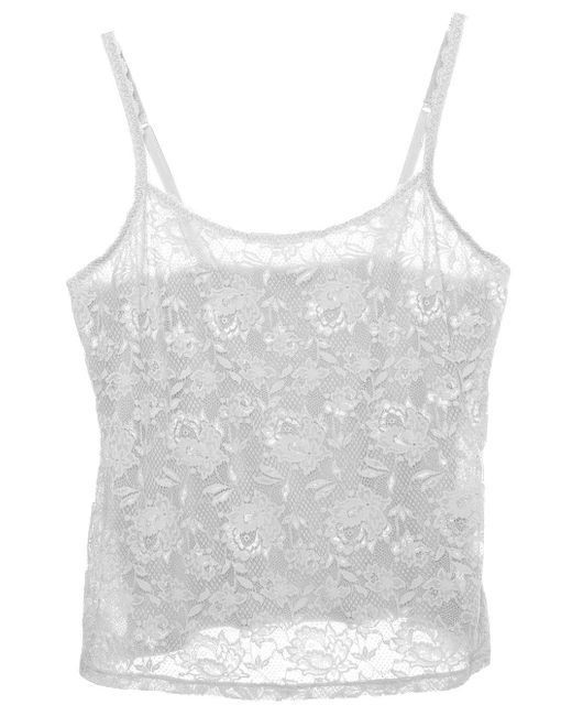 Cosabella | White Never Say Never Extended Lace Camisole | Lyst