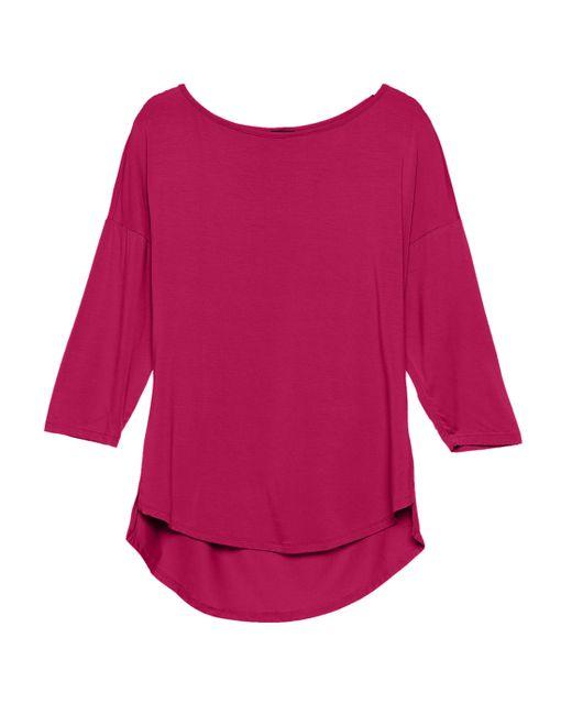 Cosabella | Multicolor Talco 3/4 Short Sleeve Boatneck Top | Lyst