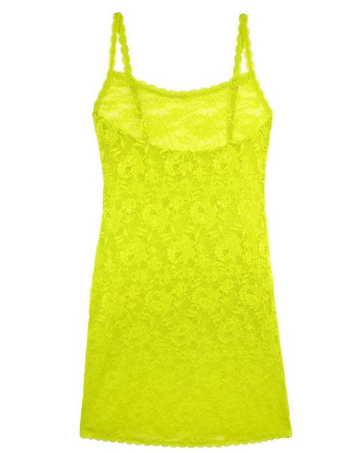 Cosabella - Yellow Never Say Never Foxie Lace Chemise - Lyst